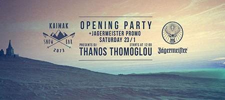 Opening party στο Kaimak Snow Bar 23/1