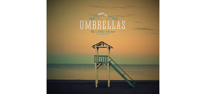 Umbrellas Pefkoxori Chalkidiki