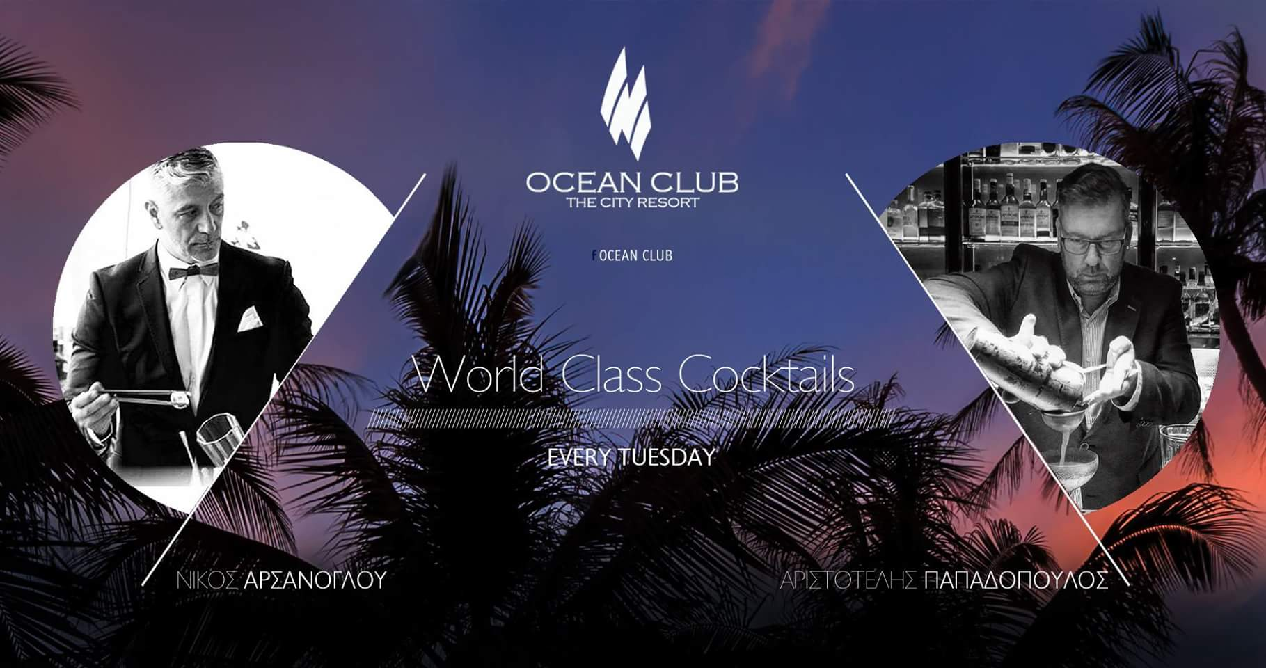 World Class Cocktails OCEAN CLUB