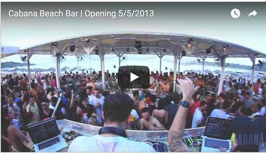 cabana beach bar chalkidiki video